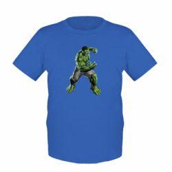 Детская футболка Big Hulk - FatLine