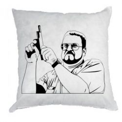 Подушка Big Lebowski with gun - FatLine