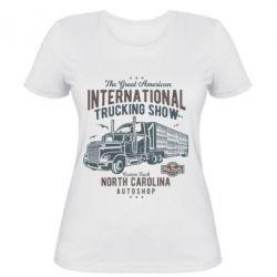 Жіноча футболка Big Truck 1