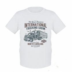 Дитяча футболка Big Truck 1