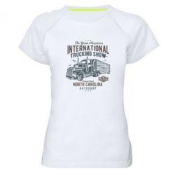 Жіноча спортивна футболка Big Truck 1