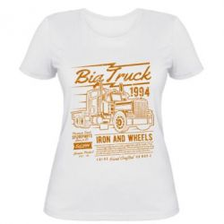 Жіноча футболка Big Truck 2