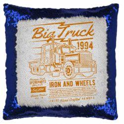 Подушка-хамелеон Big Truck 2