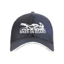 Кепка Biker on board