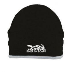 Шапка Biker on board