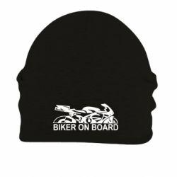 Шапка на флисе Biker on board