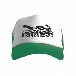 Детская кепка-тракер Biker on board