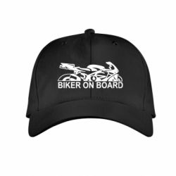 Детская кепка Biker on board