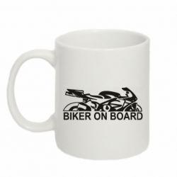 Кружка 320ml Biker on board