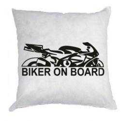 Подушка Biker on board