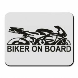 Коврик для мыши Biker on board