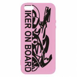 Чехол для iPhone5/5S/SE Biker on board