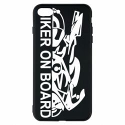 Чехол для iPhone 8 Plus Biker on board