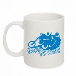 Кружка 320ml Bikers born to ride!