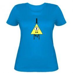 Женская футболка Билл Шифр