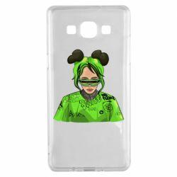 Чохол для Samsung A5 2015 Billie Eilish green style