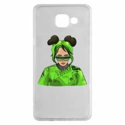 Чохол для Samsung A5 2016 Billie Eilish green style