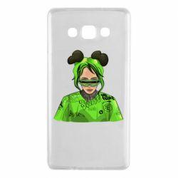 Чохол для Samsung A7 2015 Billie Eilish green style