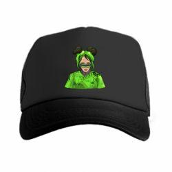 Кепка-тракер Billie Eilish green style