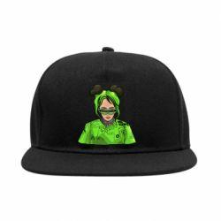 Снепбек Billie Eilish green style