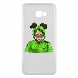 Чохол для Samsung J4 Plus 2018 Billie Eilish green style