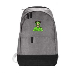 Рюкзак міський Billie Eilish green style