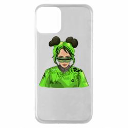 Чохол для iPhone 11 Billie Eilish green style