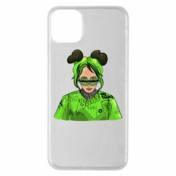 Чохол для iPhone 11 Pro Max Billie Eilish green style