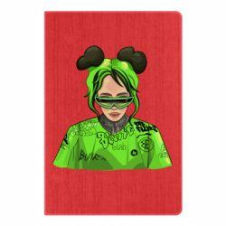 Блокнот А5 Billie Eilish green style