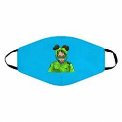 Маска для обличчя Billie Eilish green style