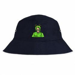 Панама Billie Eilish green style