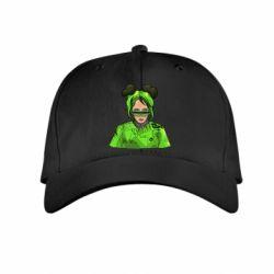 Дитяча кепка Billie Eilish green style