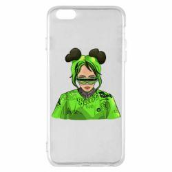Чохол для iPhone 6 Plus/6S Plus Billie Eilish green style