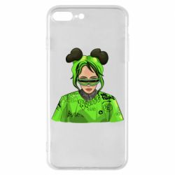 Чохол для iPhone 7 Plus Billie Eilish green style