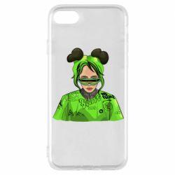 Чохол для iPhone 8 Billie Eilish green style