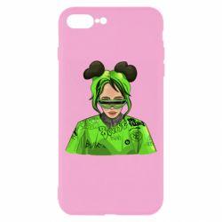 Чохол для iPhone 8 Plus Billie Eilish green style