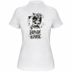 Жіноча футболка поло Більше рази не вмирати і козак