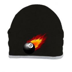 Шапка Бильярдный шар в огне