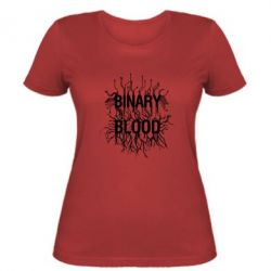 Жіноча футболка Binary Blood