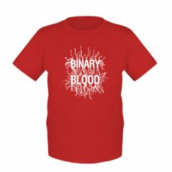 Дитяча футболка Binary Blood