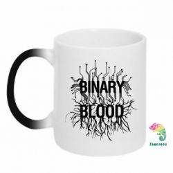 Кружка-хамелеон Binary Blood