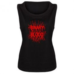 Майка жіноча Binary Blood