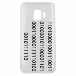 Чехол для Samsung J2 Core Binary code