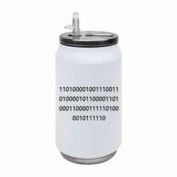 Термобанка 350ml Binary code