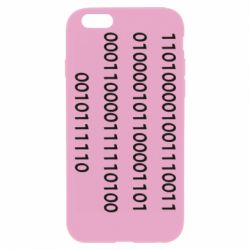 Чехол для iPhone 6 Plus/6S Plus Binary code
