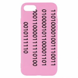 Чехол для iPhone 7 Binary code