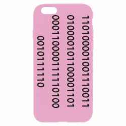 Чехол для iPhone 6/6S Binary code