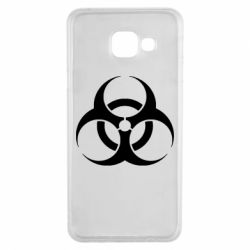 Чехол для Samsung A3 2016 biohazard