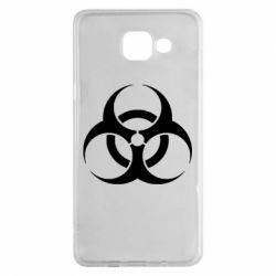 Чехол для Samsung A5 2016 biohazard