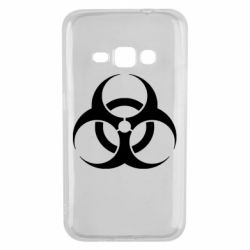 Чехол для Samsung J1 2016 biohazard